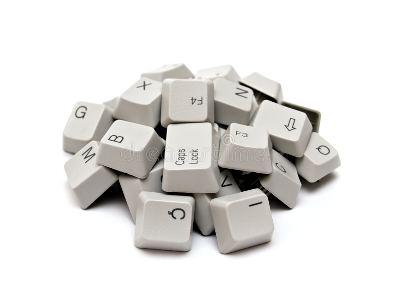 πλήκτρα πληκτρολογίων υπολογιστών στοκ φωτογραφίες με δικαίωμα ελεύθερης χρήσης
