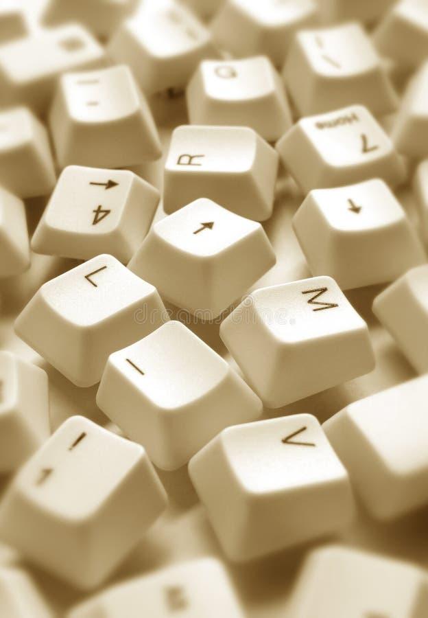 πλήκτρα υπολογιστών στοκ φωτογραφία με δικαίωμα ελεύθερης χρήσης