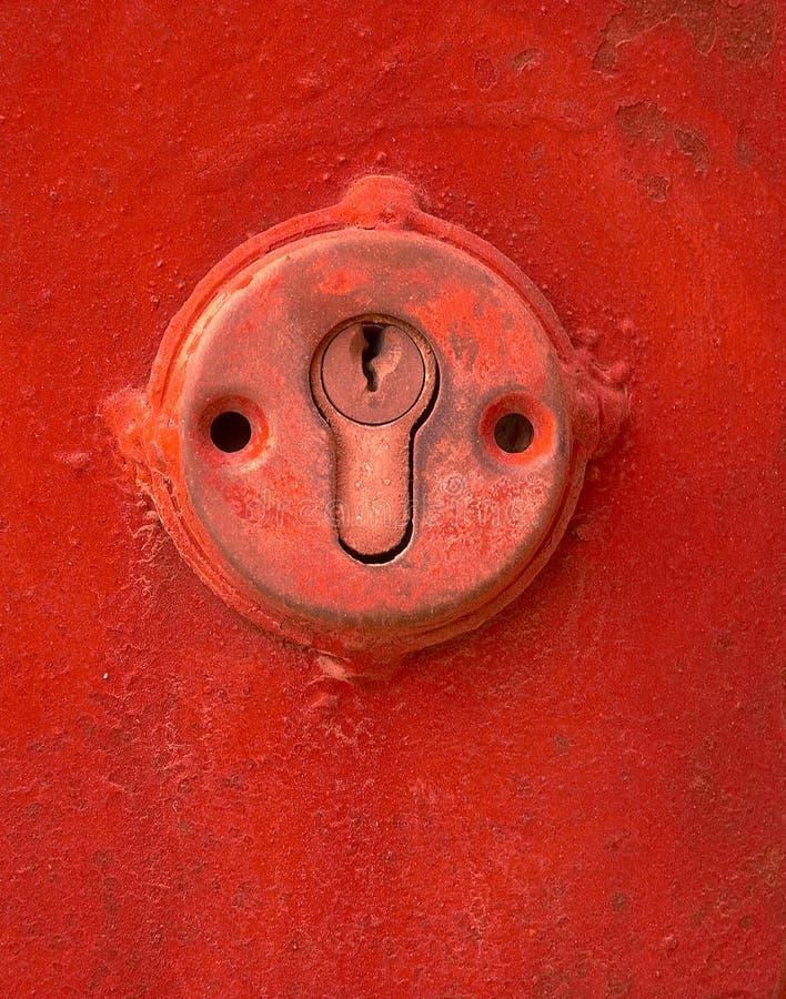 Download πλήκτρο τρυπών στοκ εικόνα. εικόνα από τρύπα, κόκκινος - 124727