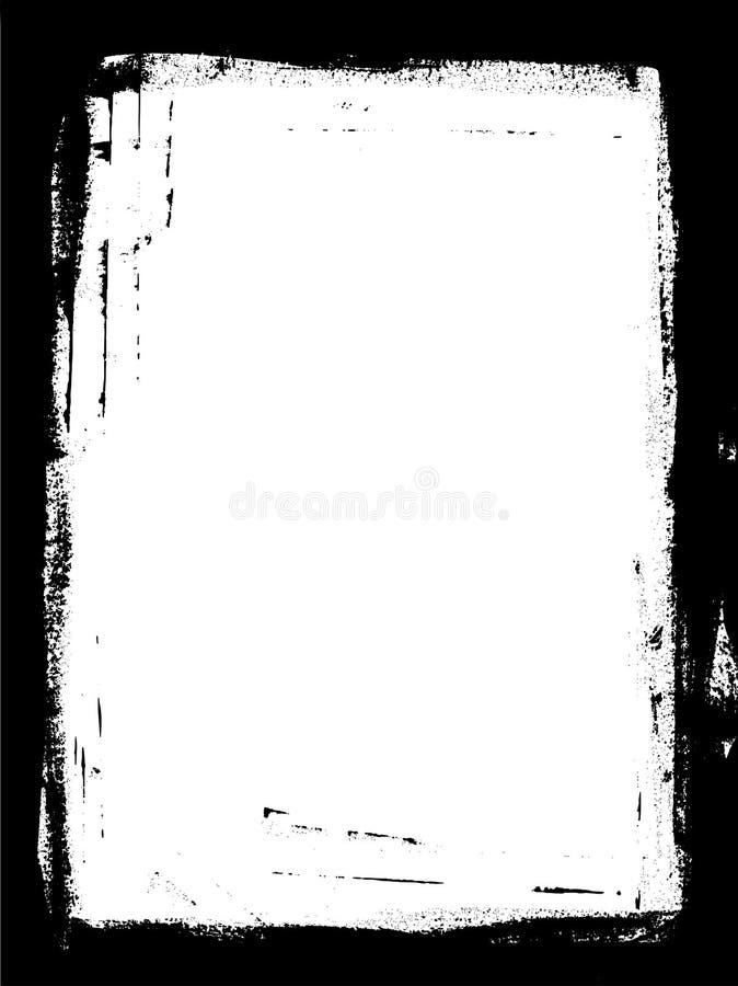 πλήρης σελίδα συνόρων διανυσματική απεικόνιση