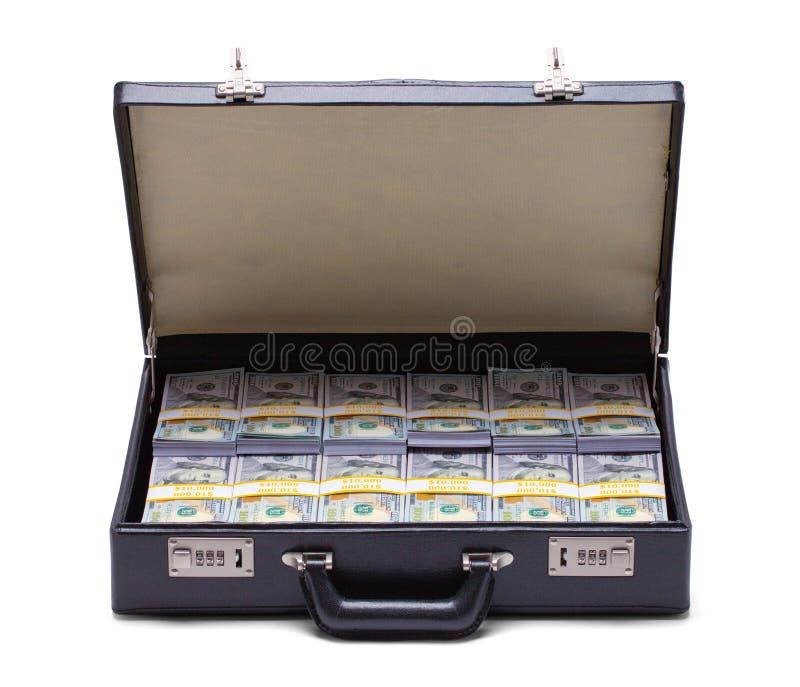 πλήρη χρήματα χαρτοφυλάκω&nu στοκ φωτογραφία με δικαίωμα ελεύθερης χρήσης