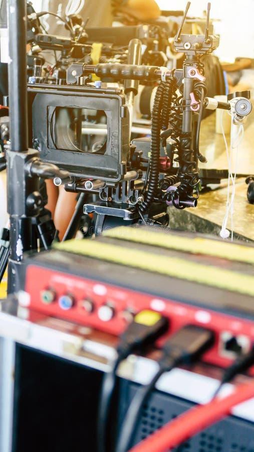 Πλήρωμα παραγωγής ταινιών στοκ φωτογραφία με δικαίωμα ελεύθερης χρήσης