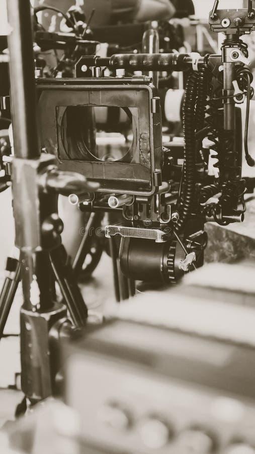Πλήρωμα παραγωγής ταινιών στοκ εικόνα με δικαίωμα ελεύθερης χρήσης