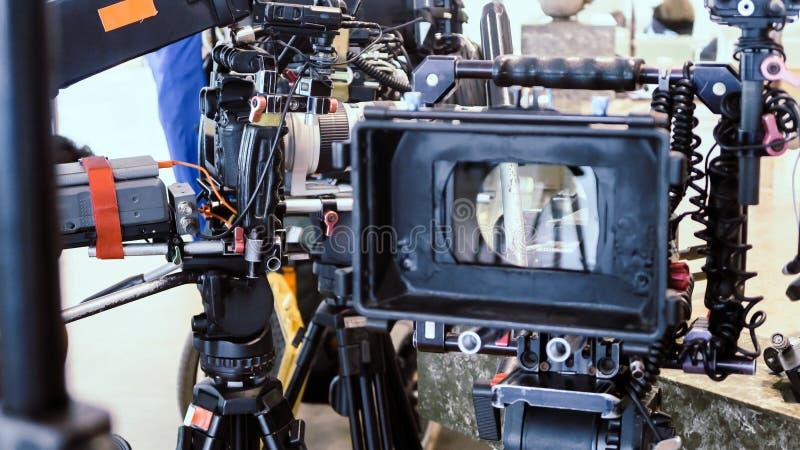 Πλήρωμα παραγωγής ταινιών στοκ εικόνες