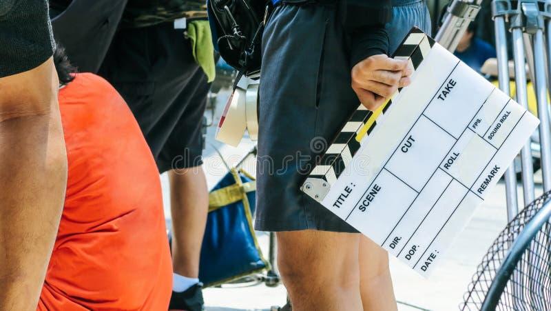 Πλήρωμα παραγωγής ταινιών στοκ φωτογραφίες