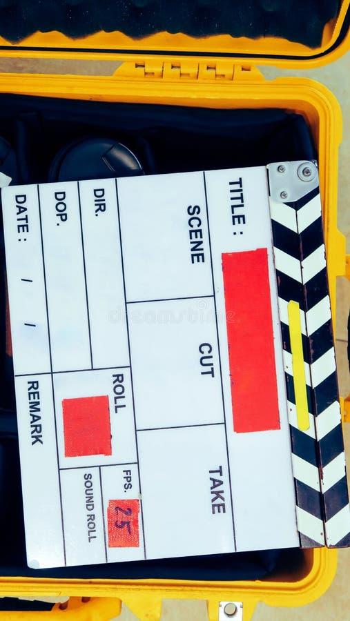 Πλήρωμα παραγωγής ταινιών στοκ φωτογραφία