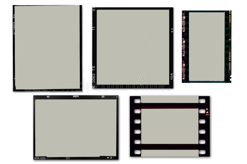 πλαίσια ταινιών διανυσματική απεικόνιση