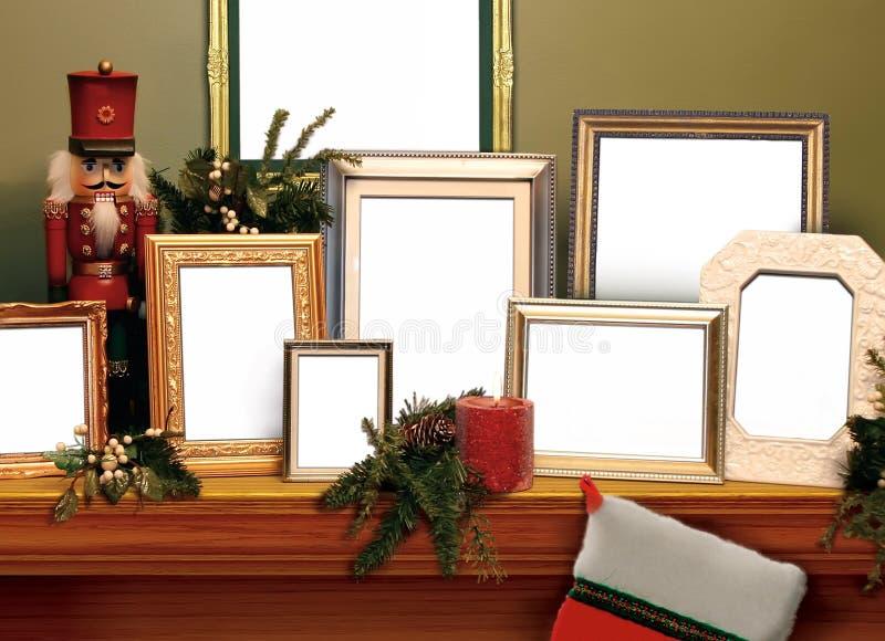 πλαίσια Χριστουγέννων στοκ εικόνα με δικαίωμα ελεύθερης χρήσης