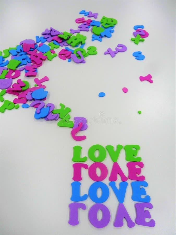 Πλαίσιο αγάπης για το γράψιμο ενός διαστήματος μηνυμάτων για το γράψιμο στοκ εικόνα με δικαίωμα ελεύθερης χρήσης