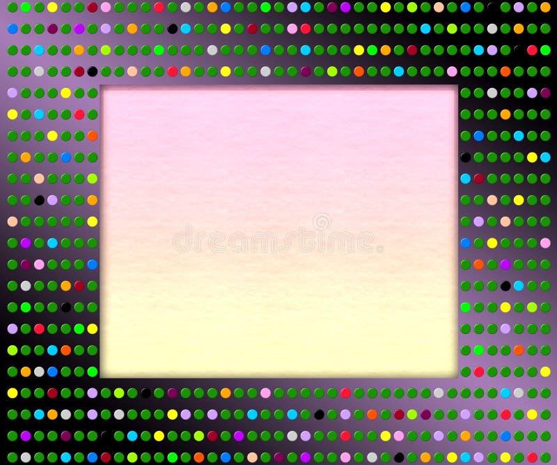 Πλαίσιο εικόνων Disco στοκ φωτογραφία με δικαίωμα ελεύθερης χρήσης