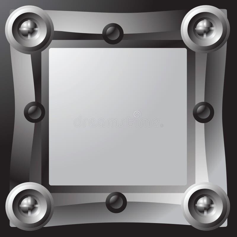 πλαίσιο μηχανικό διανυσματική απεικόνιση