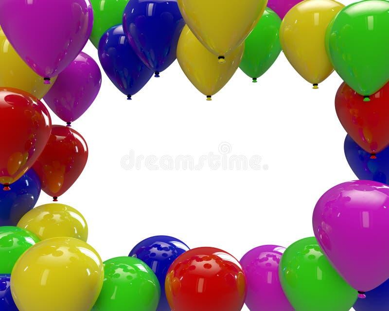 Download πλαίσιο μπαλονιών στοκ εικόνες. εικόνα από αντικείμενα - 22791360