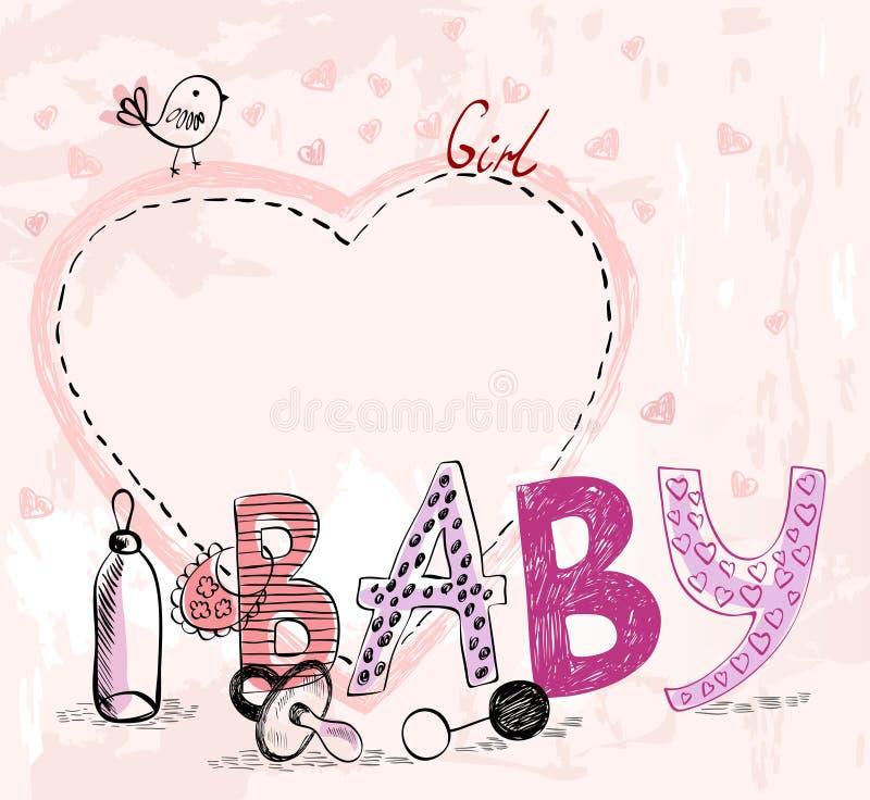 πλαίσιο μωρών διανυσματική απεικόνιση