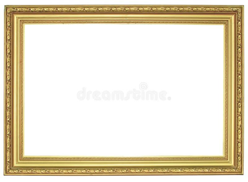 Πλαίσιο που απομονώνεται εκλεκτής ποιότητας στο λευκό στοκ φωτογραφία με δικαίωμα ελεύθερης χρήσης