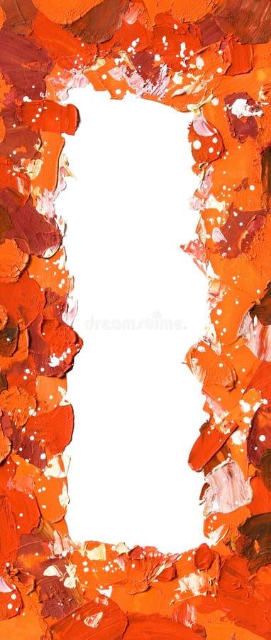 πλαίσιο που χρωματίζετα&io στοκ φωτογραφία με δικαίωμα ελεύθερης χρήσης