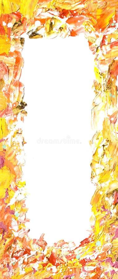 πλαίσιο που χρωματίζετα&io στοκ εικόνες με δικαίωμα ελεύθερης χρήσης