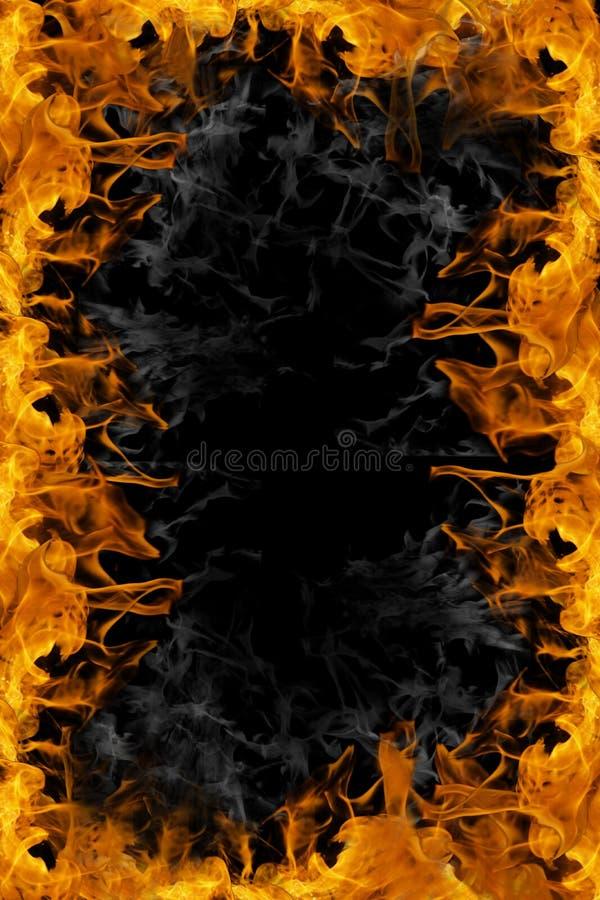 πλαίσιο πυρκαγιάς διανυσματική απεικόνιση