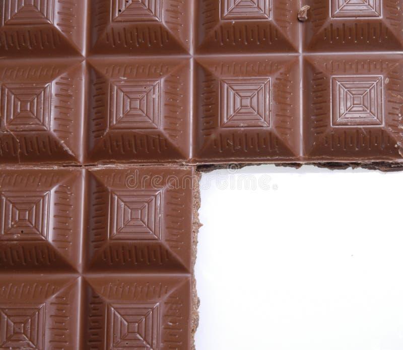 πλαίσιο σοκολάτας στοκ φωτογραφίες