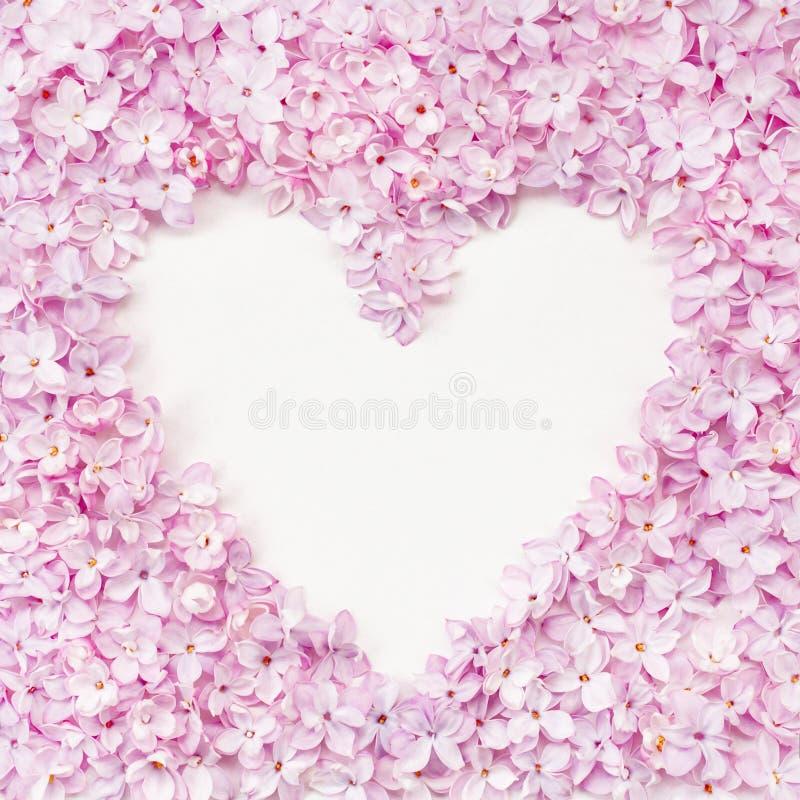 Πλαίσιο σχήματος καρδιακού κυλίνδρου Φωτεινό όμορφο περίγραμμα με χώρο αντιγραφής στοκ φωτογραφία με δικαίωμα ελεύθερης χρήσης