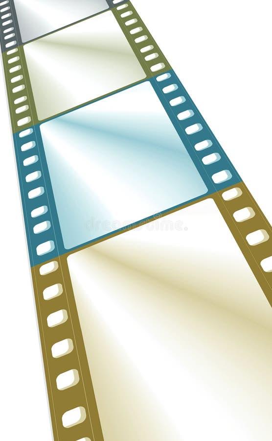 Πλαίσιο ταινιών χρώματος στοκ εικόνες