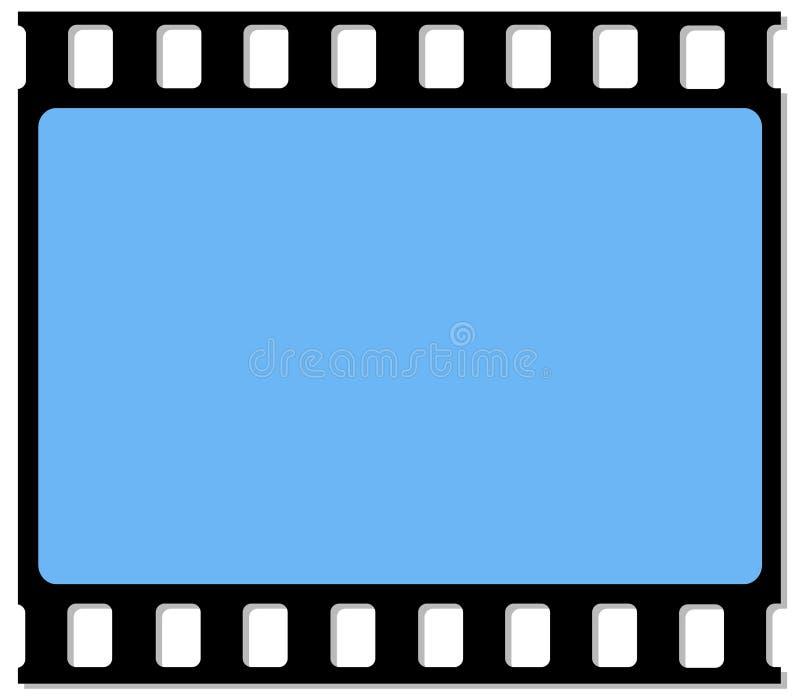 πλαίσιο ταινιών 35mm ελεύθερη απεικόνιση δικαιώματος
