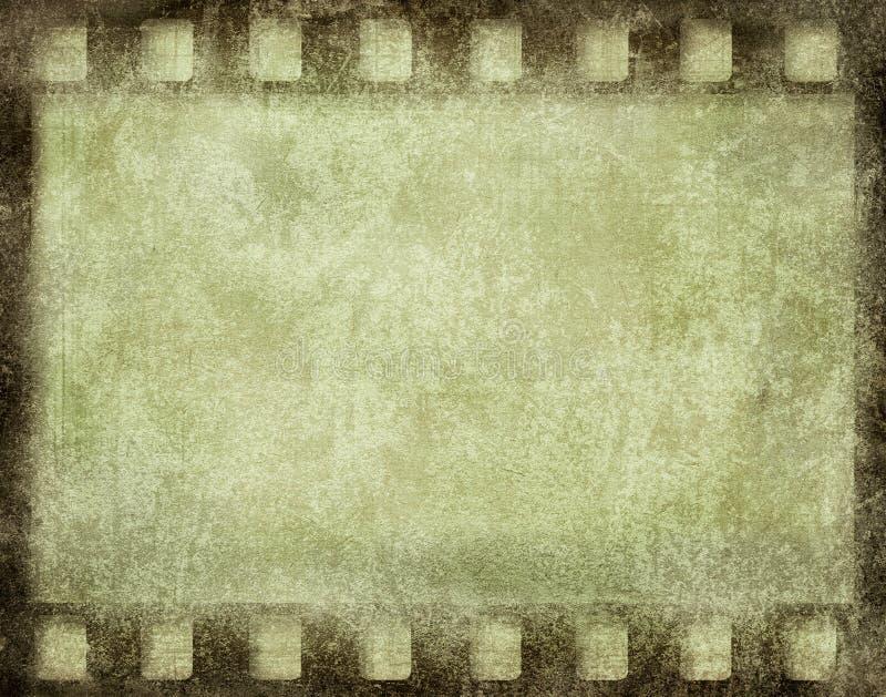 Πλαίσιο ταινιών Grunge ελεύθερη απεικόνιση δικαιώματος
