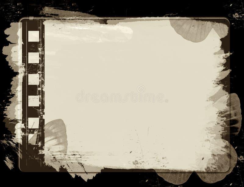 πλαίσιο ταινιών grunge απεικόνιση αποθεμάτων
