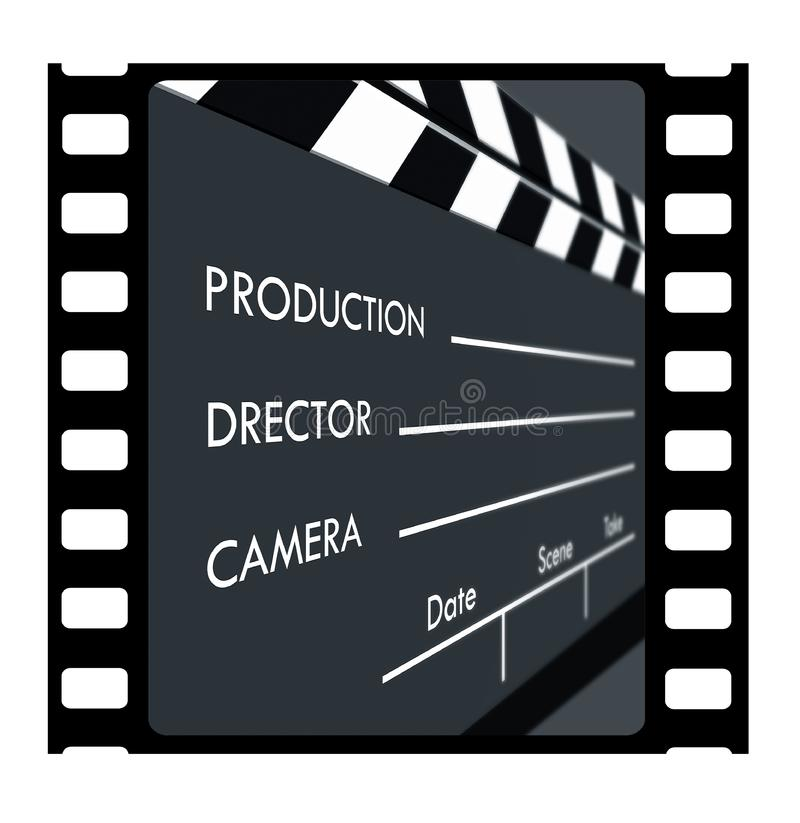 πλαίσιο φωτογραφικών διαφανειών 35mm στοκ φωτογραφία