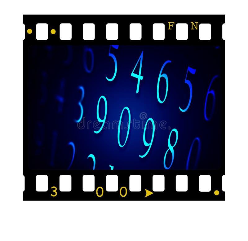 πλαίσιο φωτογραφικών διαφανειών 35mm στοκ εικόνα
