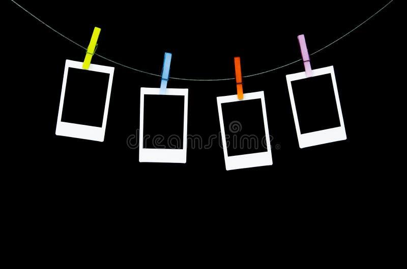 Πλαίσιο φωτογραφιών Polaroid ελεύθερη απεικόνιση δικαιώματος