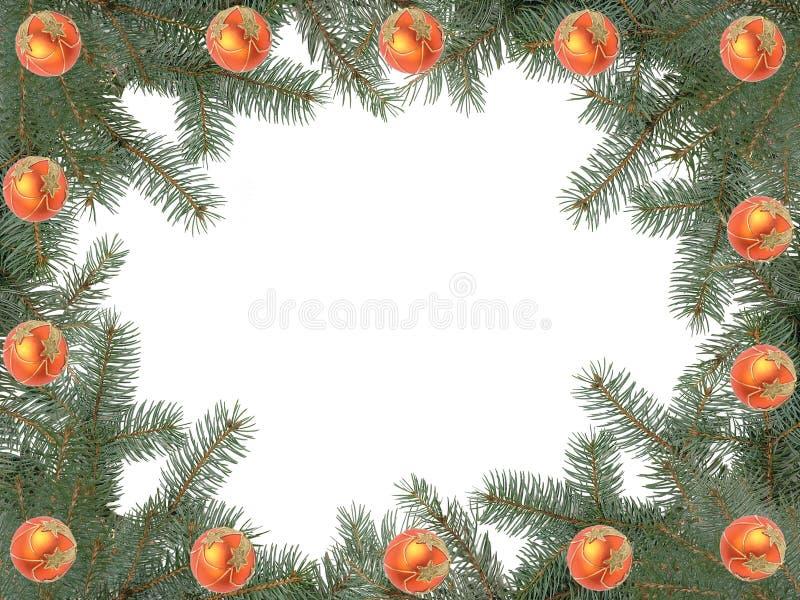 Download πλαίσιο Χριστουγέννων στοκ εικόνα. εικόνα από αειθαλής - 1530483