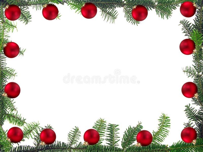 πλαίσιο Χριστουγέννων διανυσματική απεικόνιση