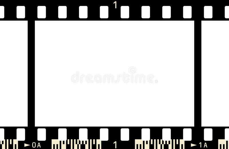 πλαίσιο 3 ταινιών x1 απεικόνιση αποθεμάτων