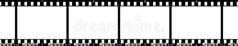 πλαίσιο 3 ταινιών x4 διανυσματική απεικόνιση