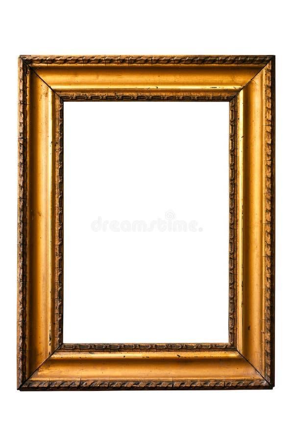 πλαίσιο 9 χρυσό κανένας πα&lambd στοκ φωτογραφία με δικαίωμα ελεύθερης χρήσης