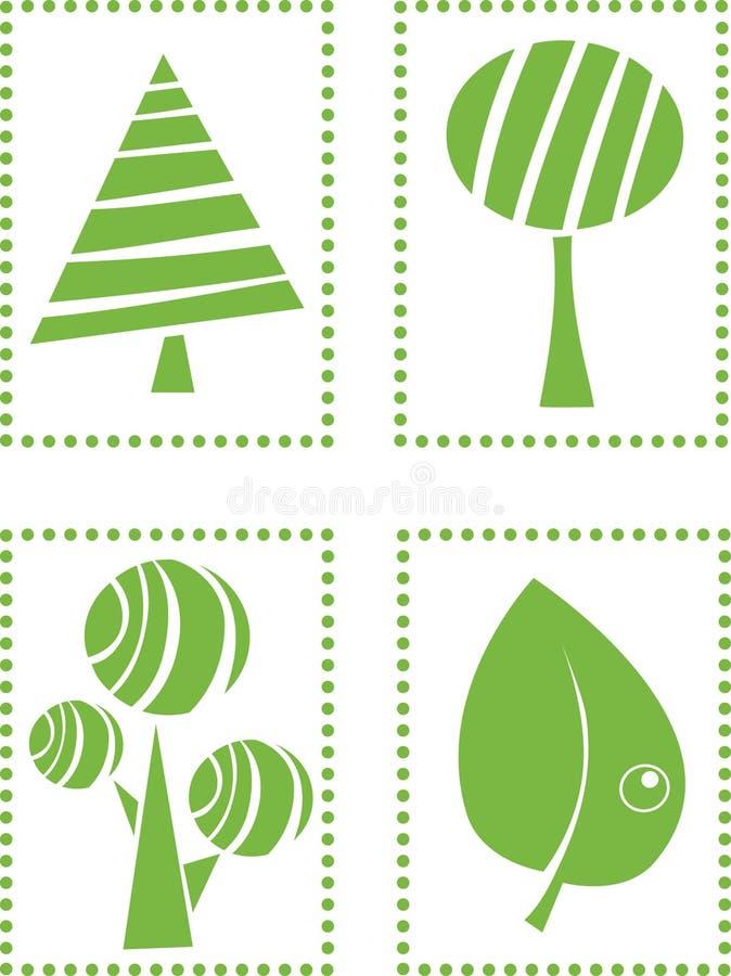 πλαίσιο eco διανυσματική απεικόνιση
