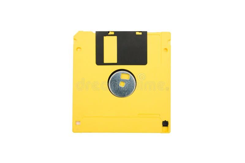 πλαδαρός κίτρινος δίσκων στοκ φωτογραφίες