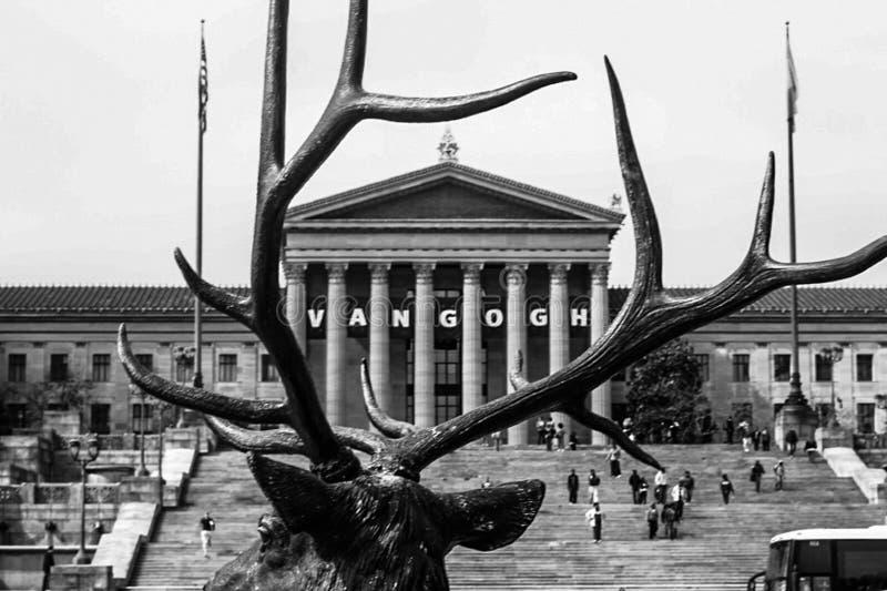 Πλαισιωμένο Μουσείο Τέχνης στοκ εικόνες