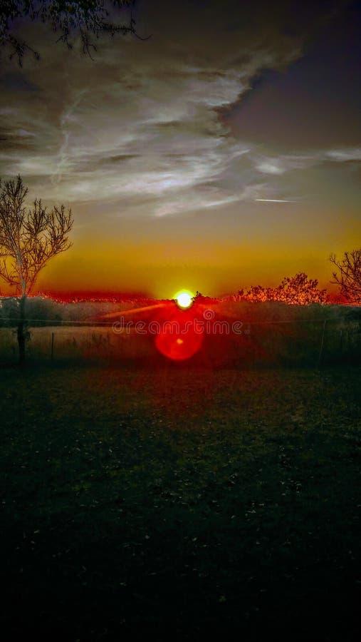 Πλανήτης Γη καλημέρας στοκ εικόνες