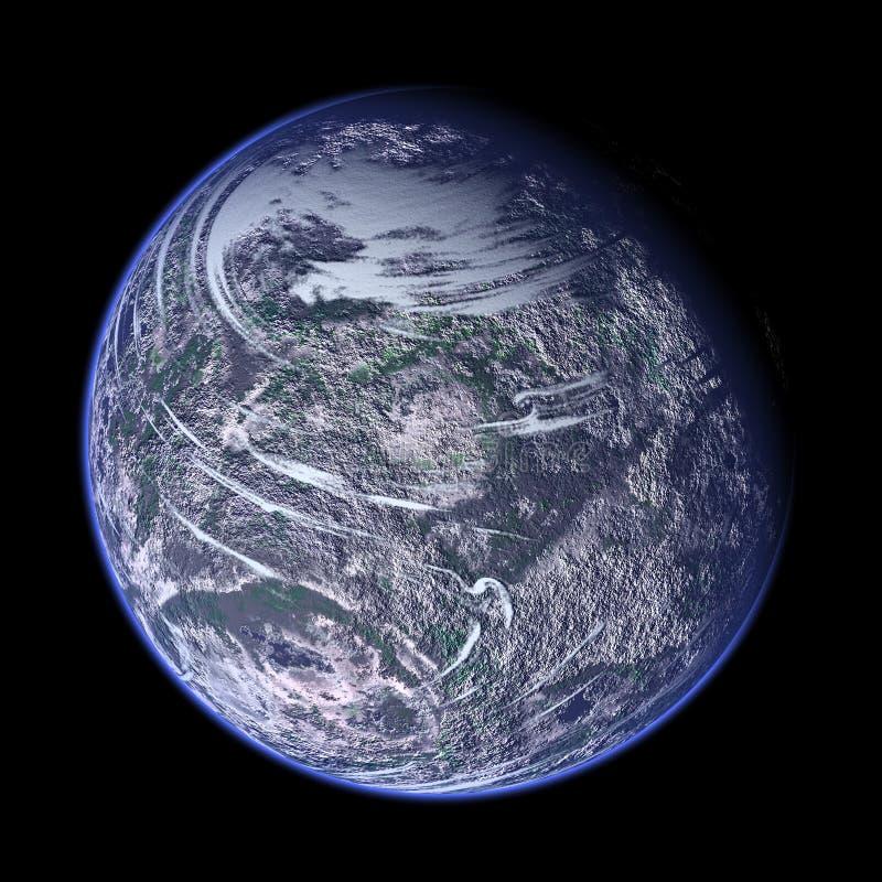 πλανήτης που δίνεται τρισ& ελεύθερη απεικόνιση δικαιώματος