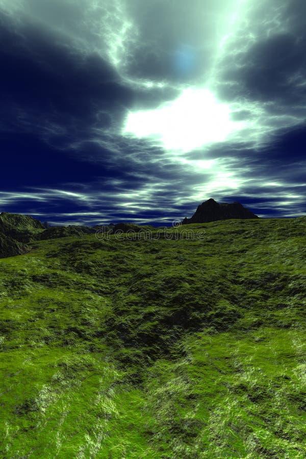 πλανήτης helion διανυσματική απεικόνιση
