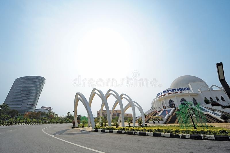 Πλανητάριο Malacca στοκ εικόνες