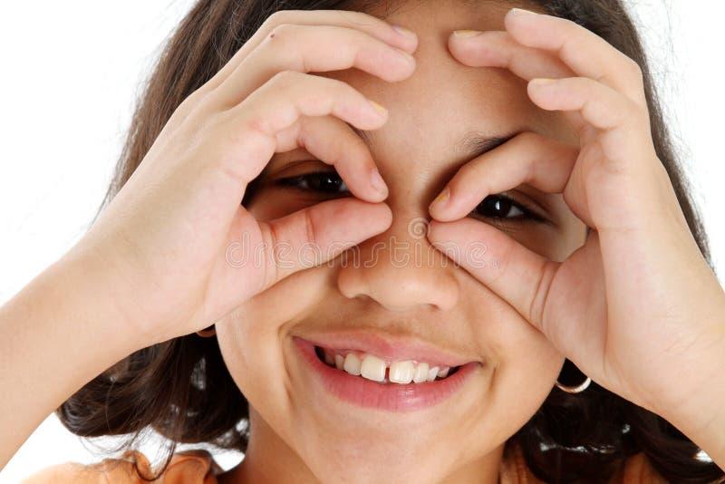 πλαστά γυαλιά παιδιών στοκ εικόνες
