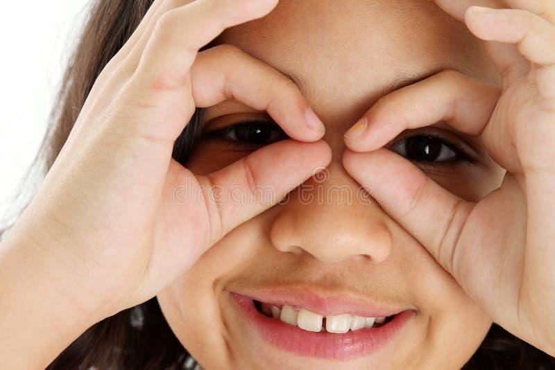 πλαστά γυαλιά παιδιών στοκ εικόνα με δικαίωμα ελεύθερης χρήσης