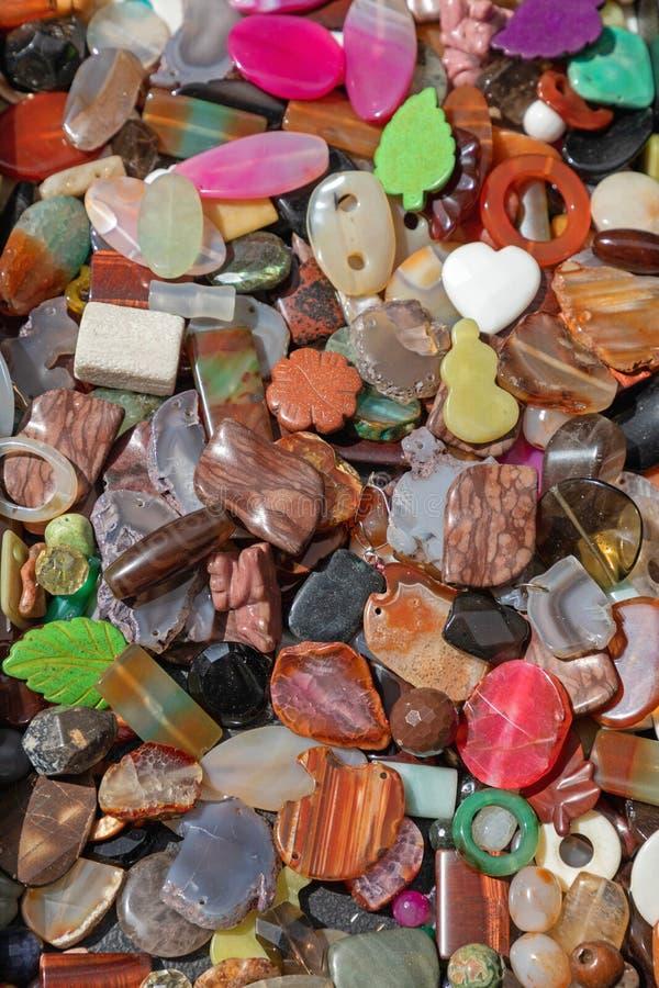 Πλαστικές πέτρες Bijoux στοκ εικόνες