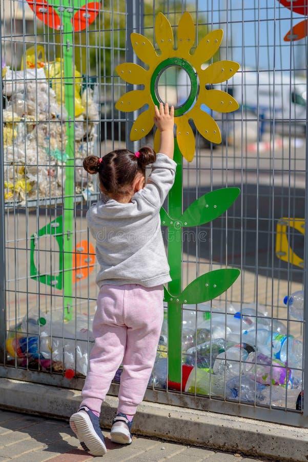 Πλαστικό ελεύθερο, εκτός από την έννοια πλανητών Εννοιολογική εικόνα για την αντι πλαστική εκστρατεία στοκ εικόνες
