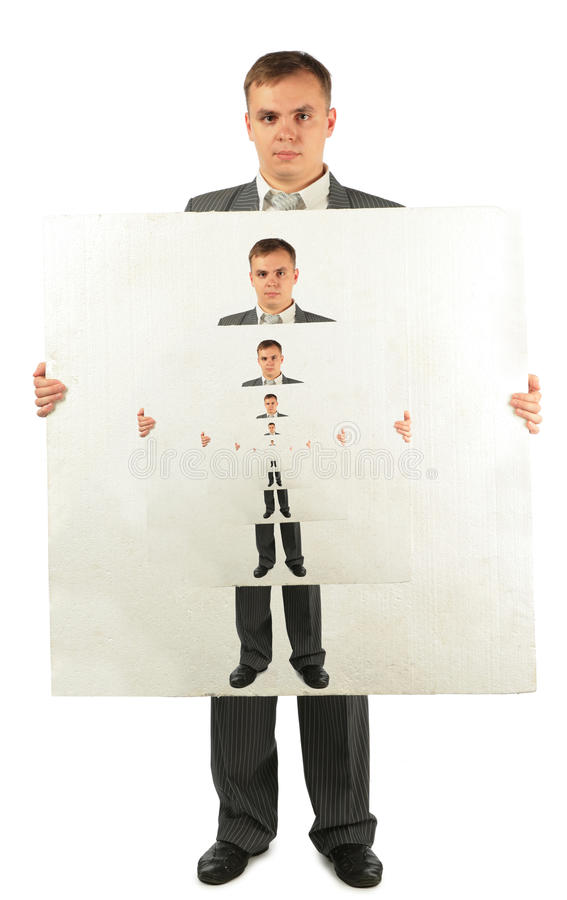 πλαστικό επιχειρηματιών &epsilo στοκ φωτογραφία με δικαίωμα ελεύθερης χρήσης