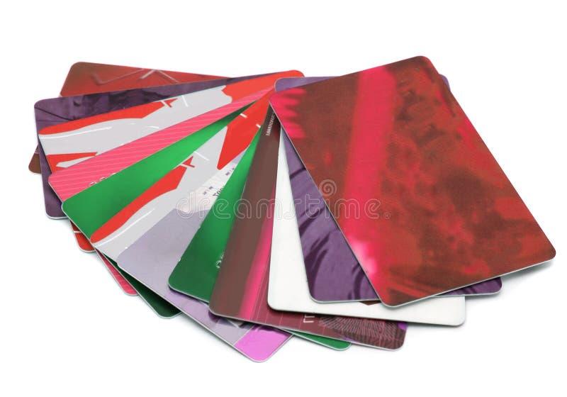 πλαστικό καρτών στοκ φωτογραφία με δικαίωμα ελεύθερης χρήσης