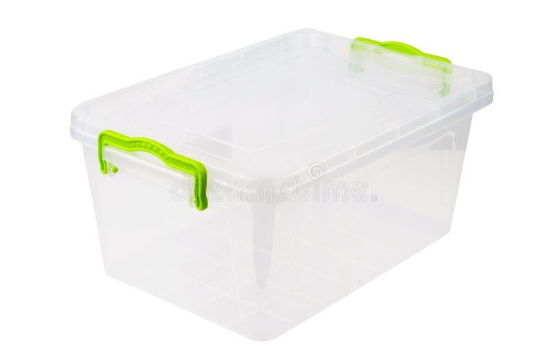 Πλαστικό κιβώτιο για τα τρόφιμα στοκ φωτογραφία