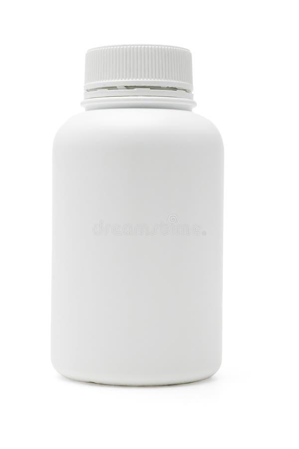 πλαστικό λευκό εμπορευ στοκ φωτογραφία με δικαίωμα ελεύθερης χρήσης